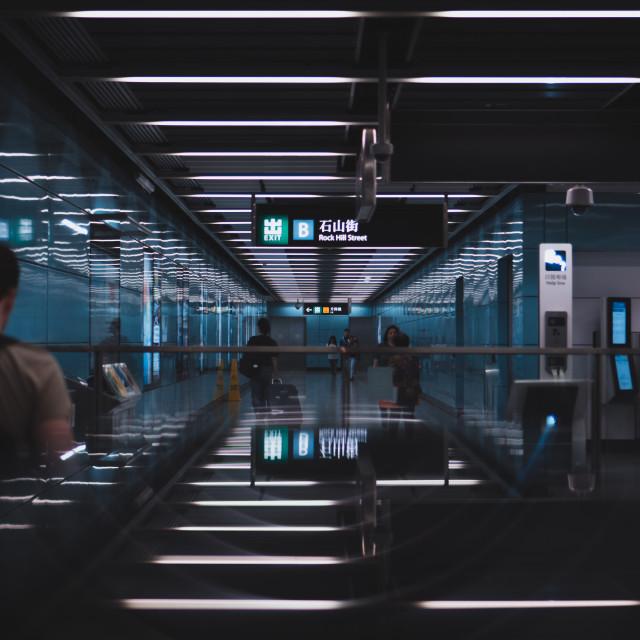 """Hong Kong Metro"" stock image"