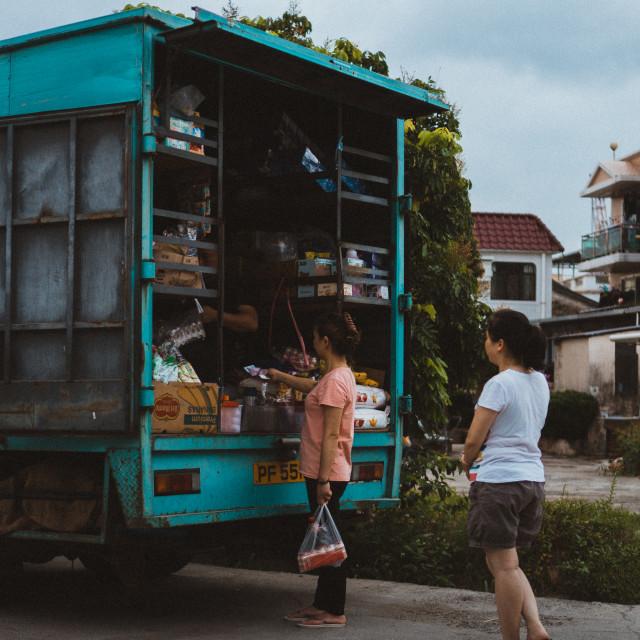 """""""Hong Kong Local Market"""" stock image"""