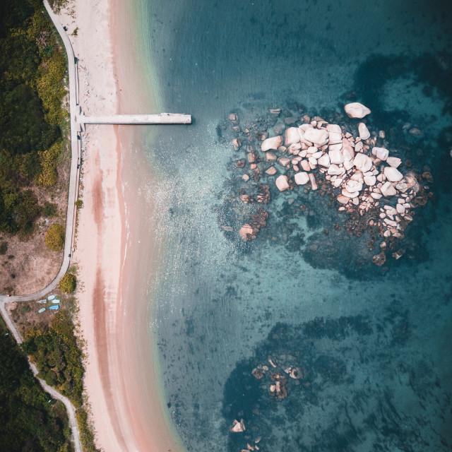 """""""Lamma Island hong kong Beach"""" stock image"""