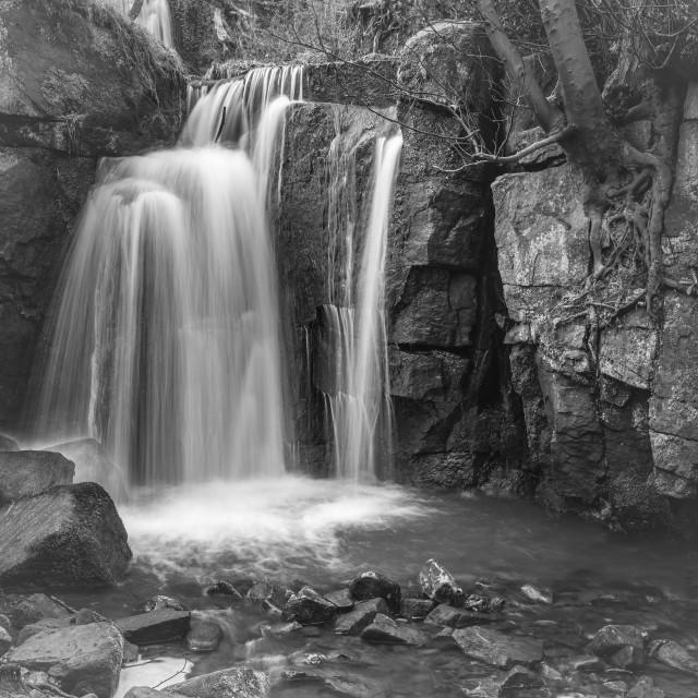 """Lumbsdale Falls"" stock image"