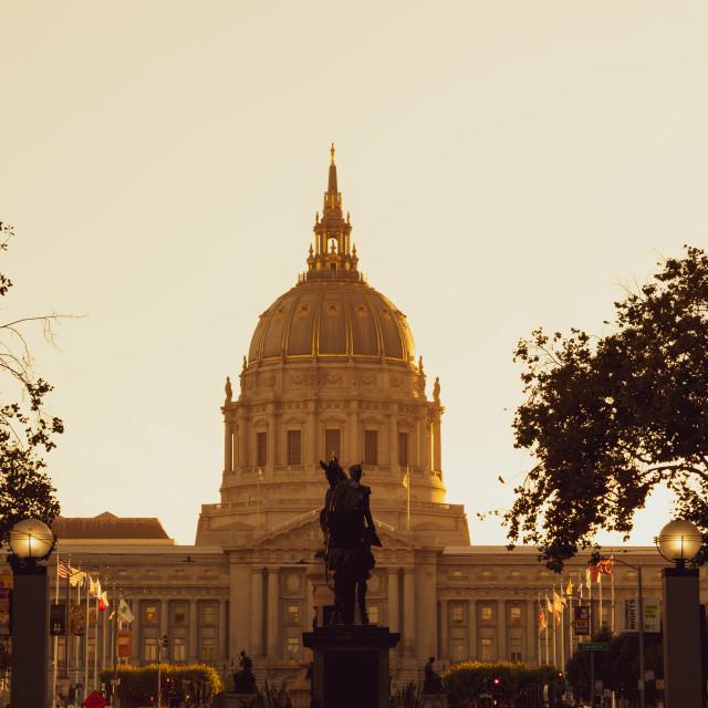 """San Francisco City Hall"" stock image"