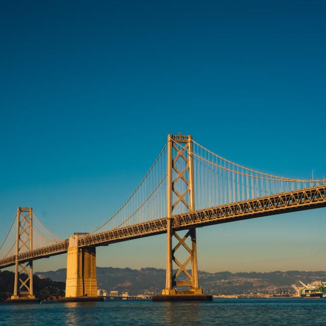 """Bay Bridge San Francisco"" stock image"