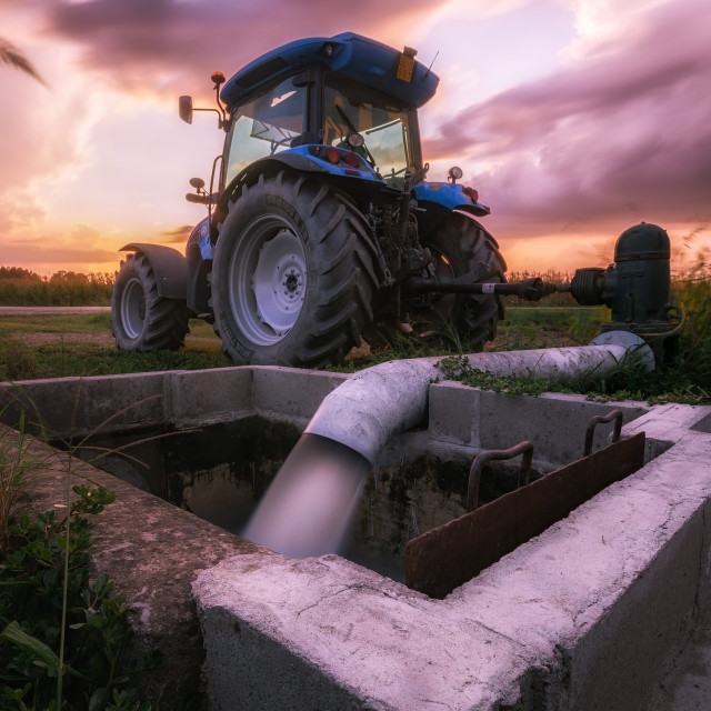 """Tractor"" stock image"