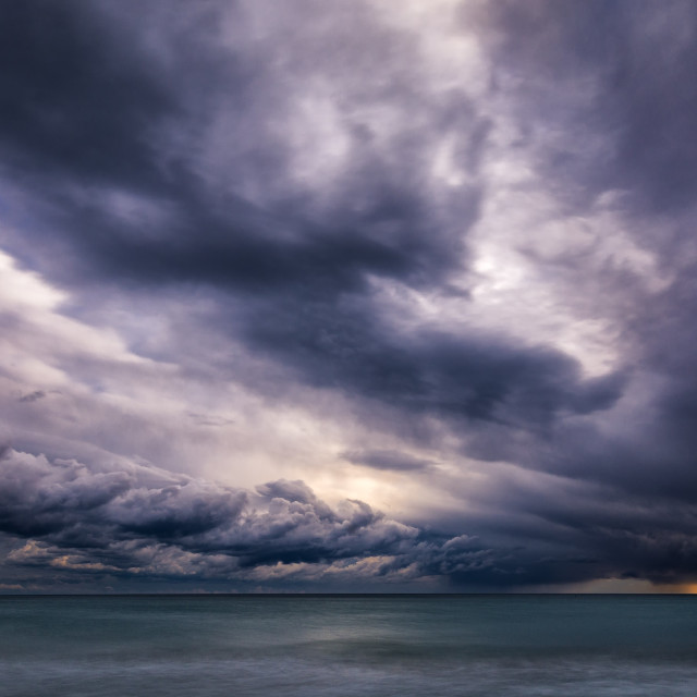 """""""Storm is coming"""" stock image"""