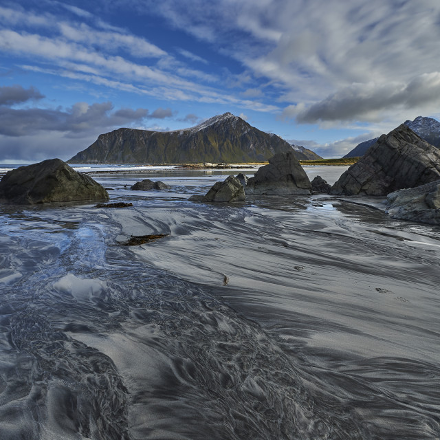 """Skagsanden Beach - No. 6"" stock image"