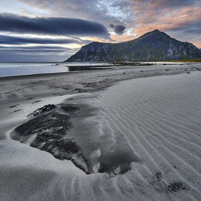 """Skagsanden Beach - No. 1"" stock image"