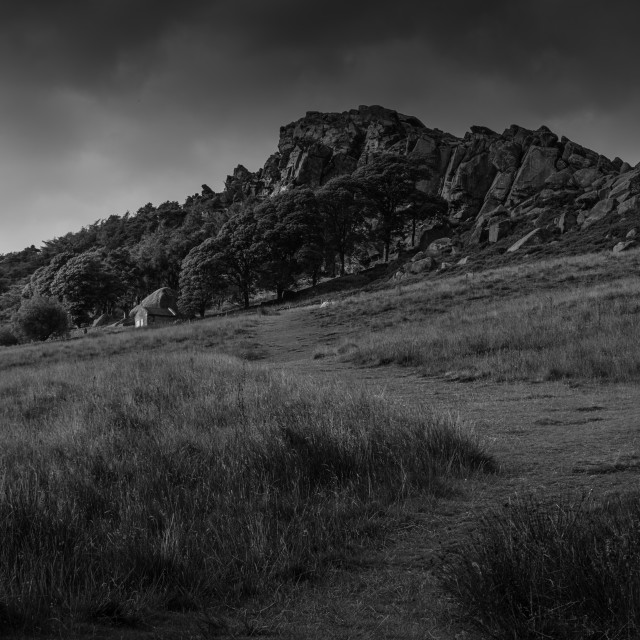 """The Roaches, The Peak District"" stock image"