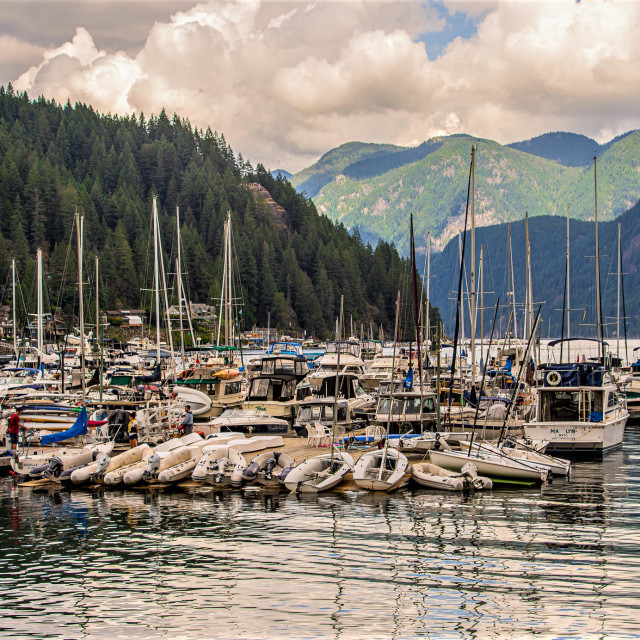 """Deep Cove, North Vancouver, BC"" stock image"