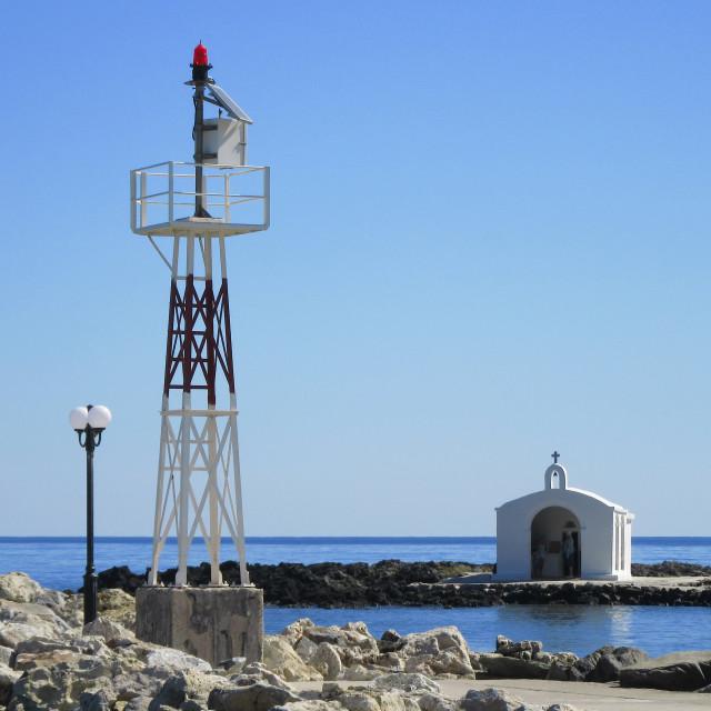 """Agios Nikolaos Church"" stock image"