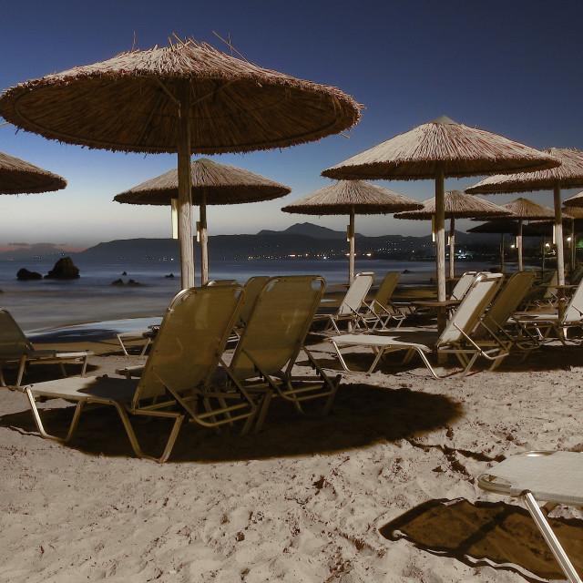 """""""Beach Settings"""" stock image"""