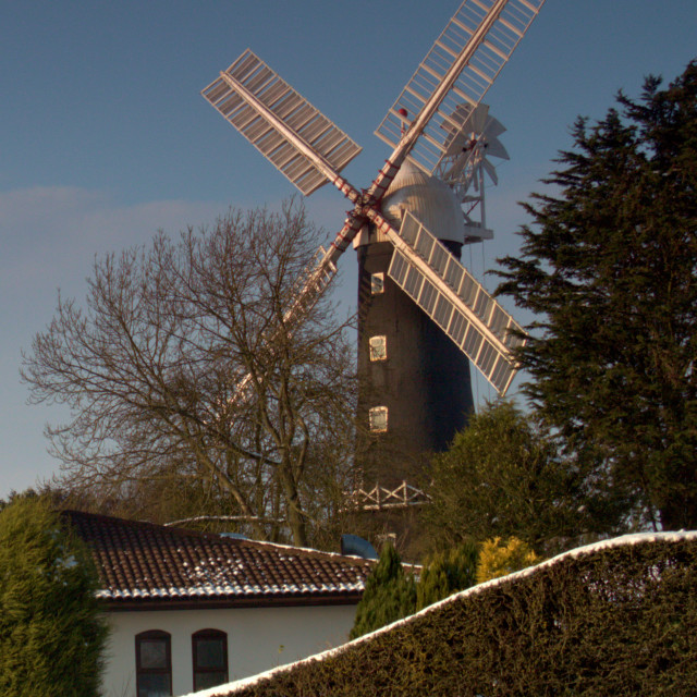 """Skidby Windmill"" stock image"
