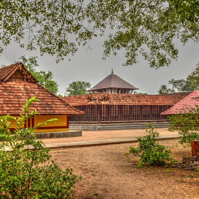 """A Hindu Temple"" stock image"