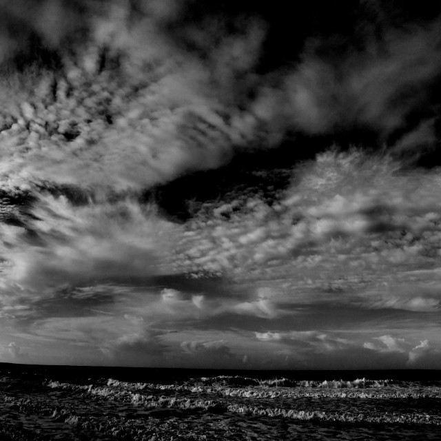 """""""Clouds Sky and Sea"""" stock image"""
