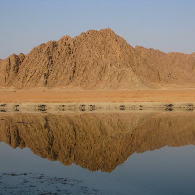"""""""Landscape in Sharm el Sheikh, Egypt"""" stock image"""