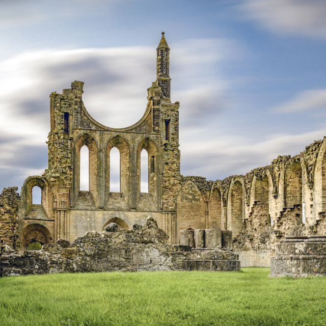 """Ryedale Abbey"" stock image"