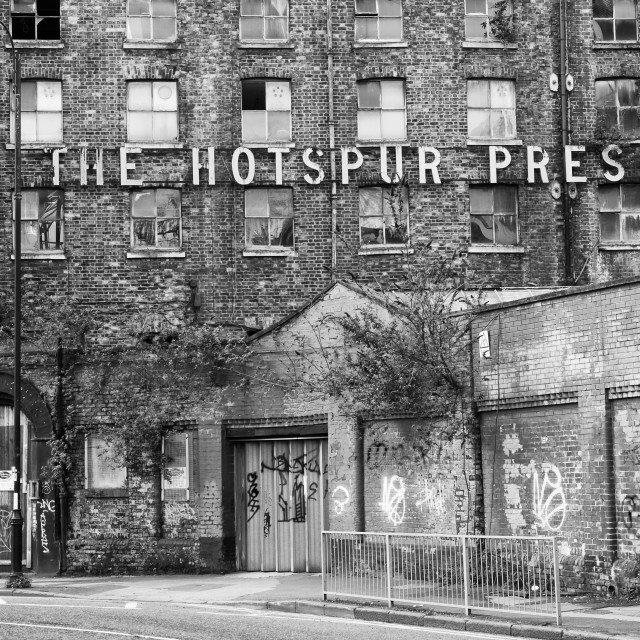 """""""The Hotspur Press"""" stock image"""