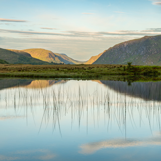 """""""Lough Veagh, Glenveagh National Park, Donegal, Ireland"""" stock image"""