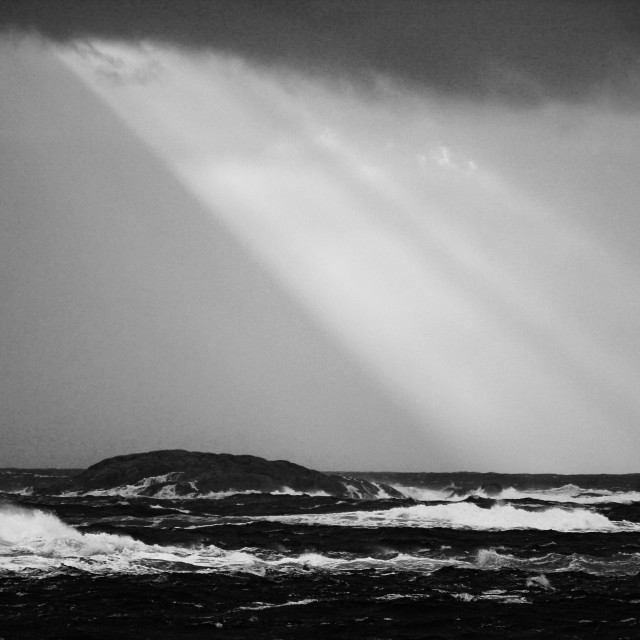 """""""Lights in the storm"""" stock image"""