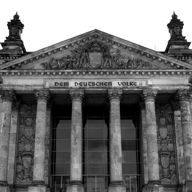 """""""Reichstag"""" stock image"""