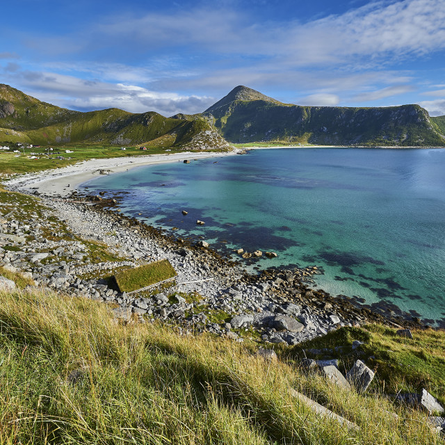 """Haukland Beach - No. 1"" stock image"
