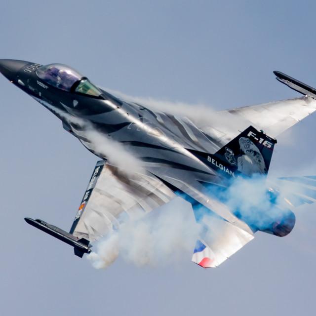"""F16 Belgium Army"" stock image"