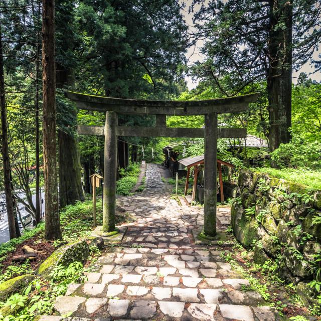 """""""Nikko - May 22, 2019: Shinto Shrine in Nikko, Japan"""" stock image"""