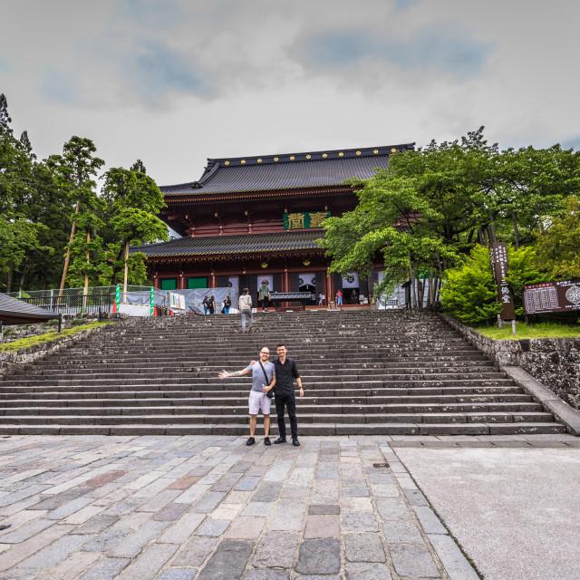 """Nikko - May 22, 2019: Buddhist temple in Nikko, Japan"" stock image"