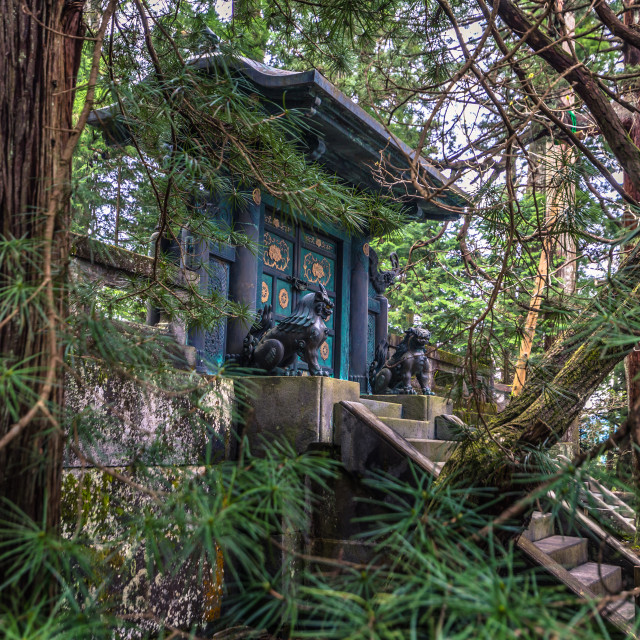 """""""Nikko - May 22, 2019: Toshogu shrine in Nikko, Japan"""" stock image"""