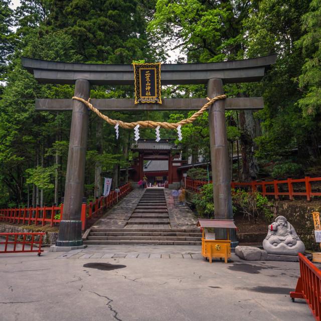 """""""Nikko - May 22, 2019: Shrine in Nikko, Japan"""" stock image"""