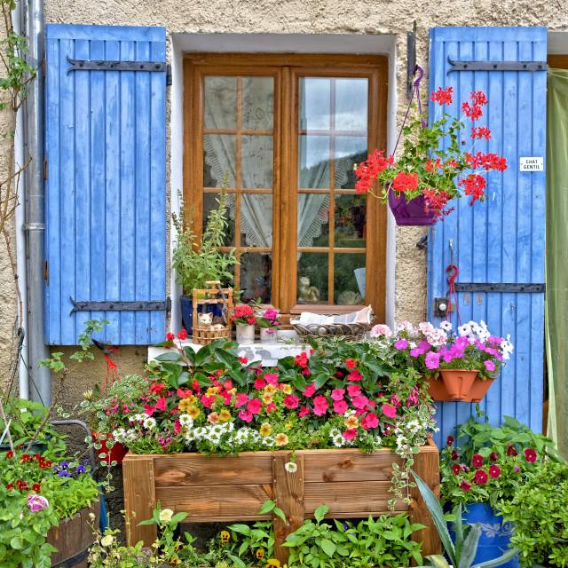 """Savoillan village"" stock image"