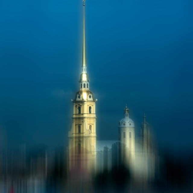 """""""Peter and Paul Fortress"""" stock image"""