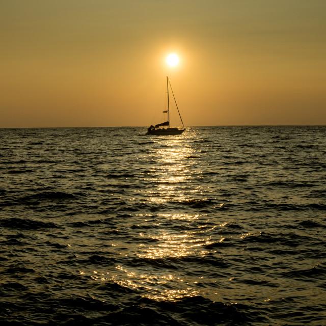 """""""Come Sail Away"""" stock image"""