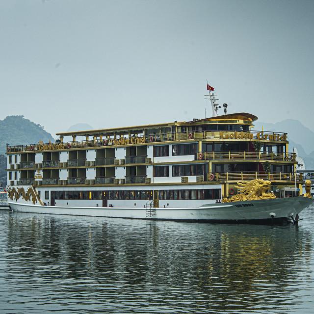 """""""Luxury on Halong Bay"""" stock image"""