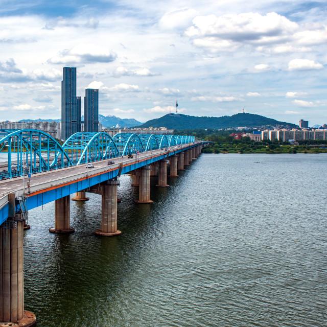 """Seoul city"" stock image"