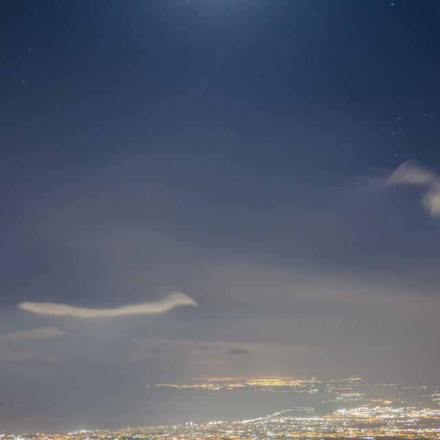 """Dancing in the moonlight"" stock image"