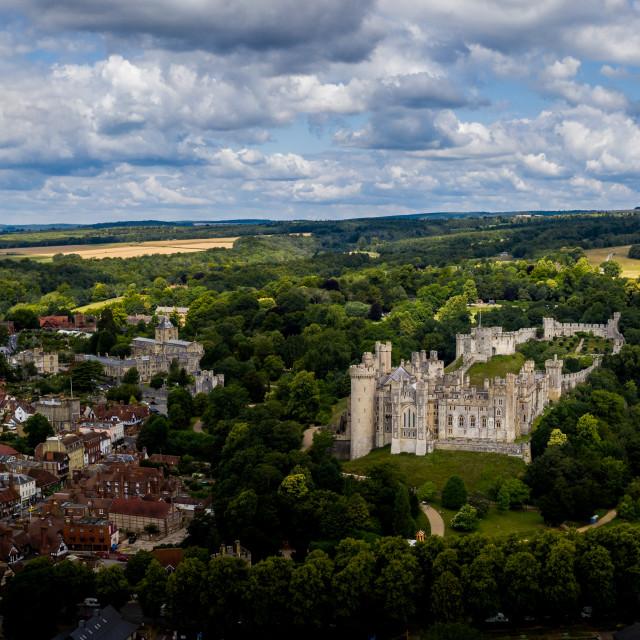 """Arundel Castle"" stock image"