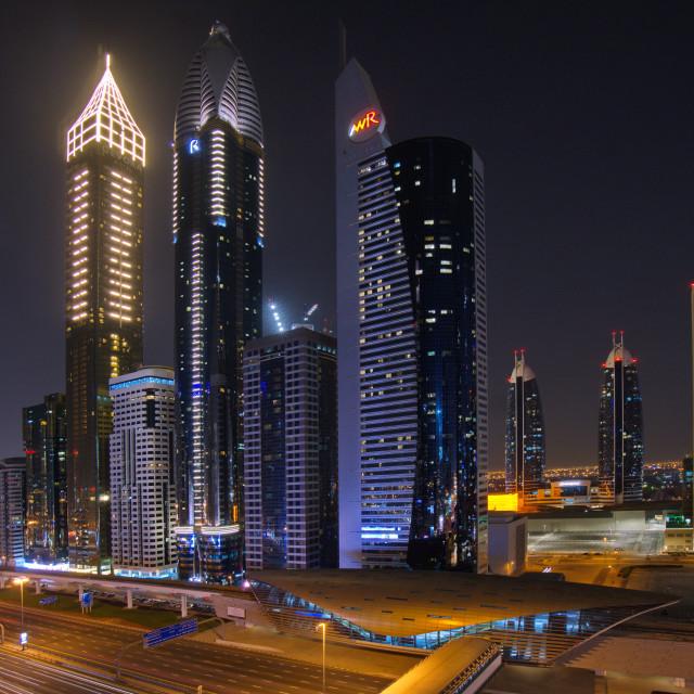 """Skyscrapers"" stock image"