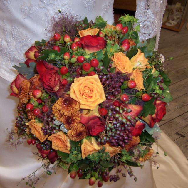 """Flower bouquet"" stock image"