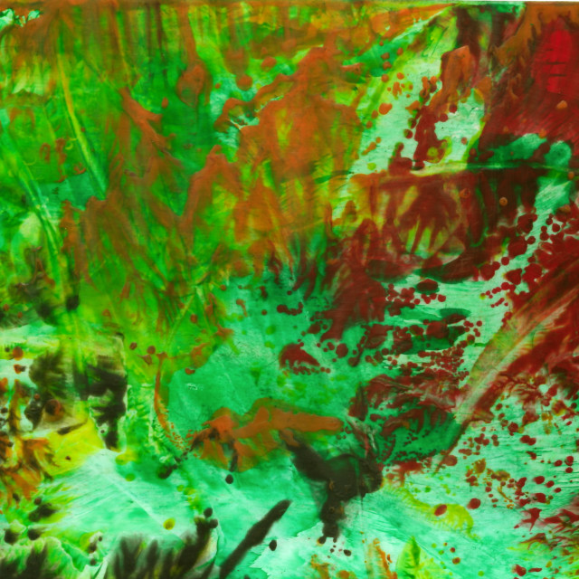 """Encaustic abstract painting"" stock image"