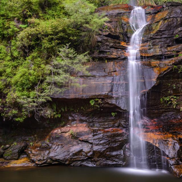 """Minnehaha Falls"" stock image"