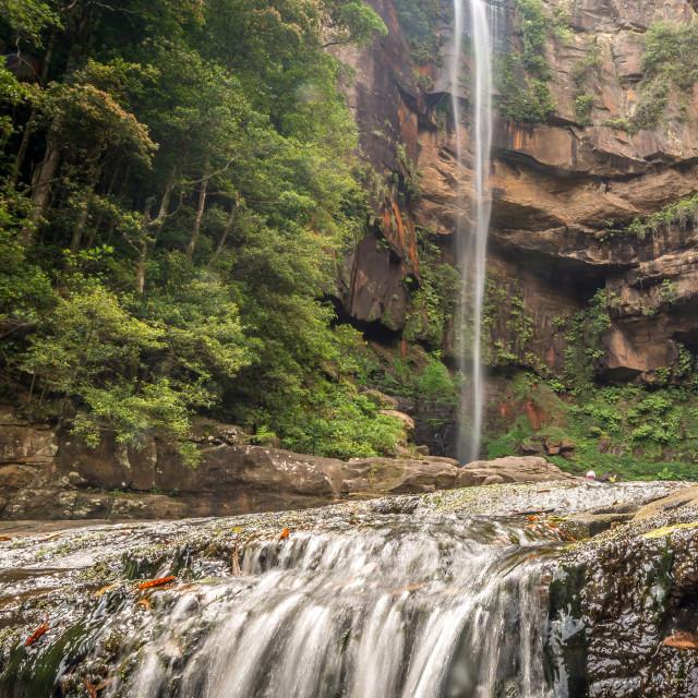 """Belmore Falls"" stock image"
