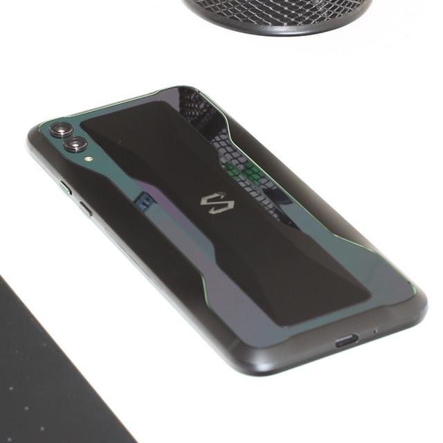"""Xiaomi Blackshark 2 back hero"" stock image"