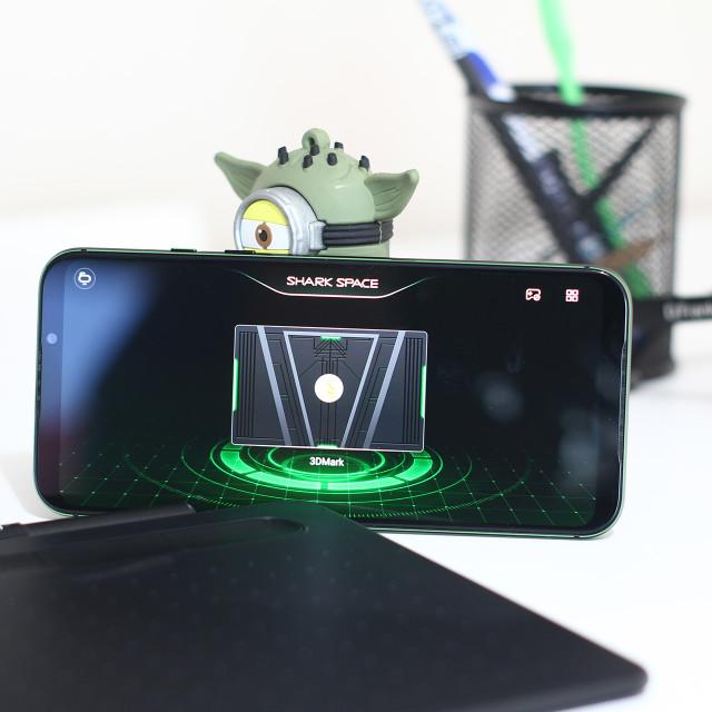 """""""Blackshark 2 Gaming app Screen"""" stock image"""