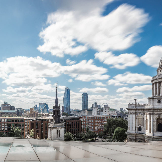 """London Panoramic View"" stock image"