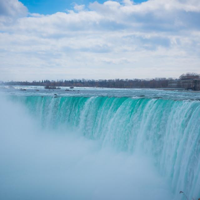 """Niagara Falls early Spring"" stock image"