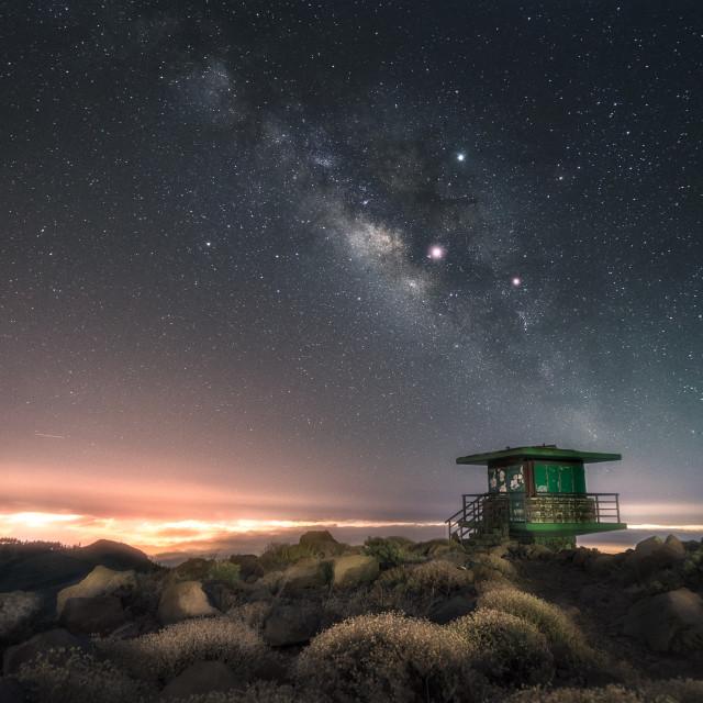 """""""Night sky"""" stock image"""