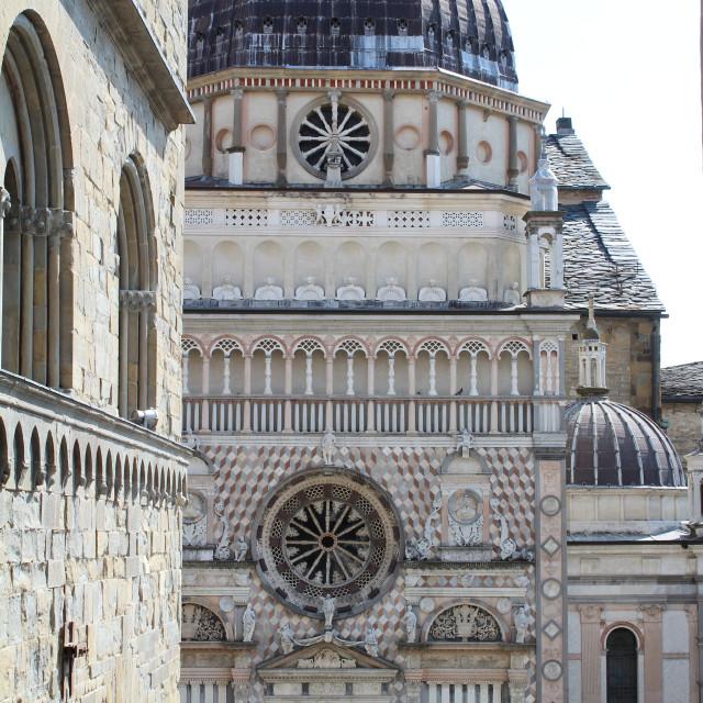 """Colleoni Chapel, Bergamo"" stock image"