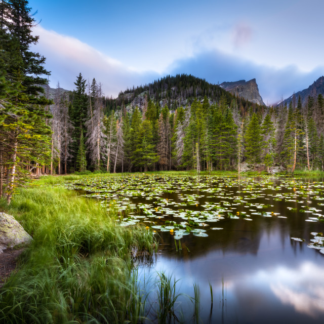 """Nymph Lake"" stock image"