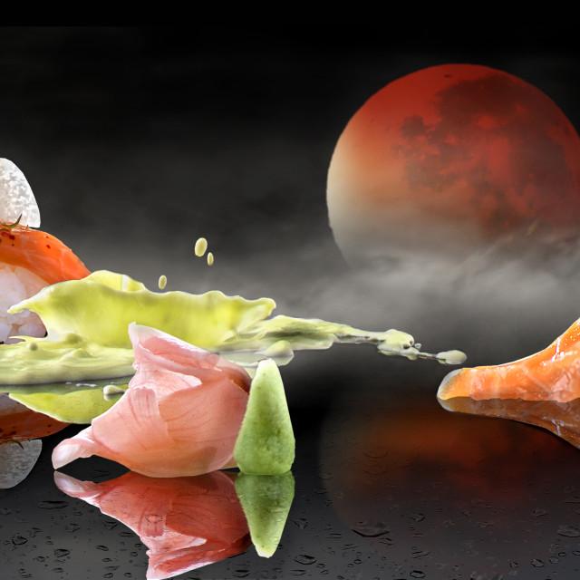 """""""Sushi design"""" stock image"""
