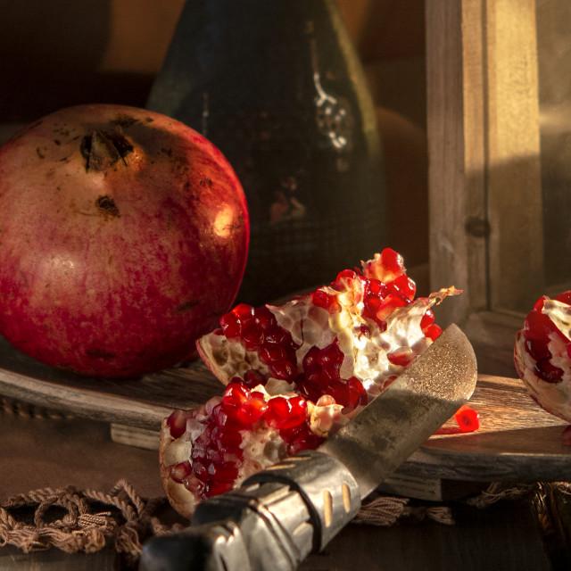 """food still life photography"" stock image"
